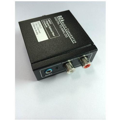 ICT Mini Convertitore Audio Da Digitale Ad Analogico A Toslink Coassiale Ottico R. . .