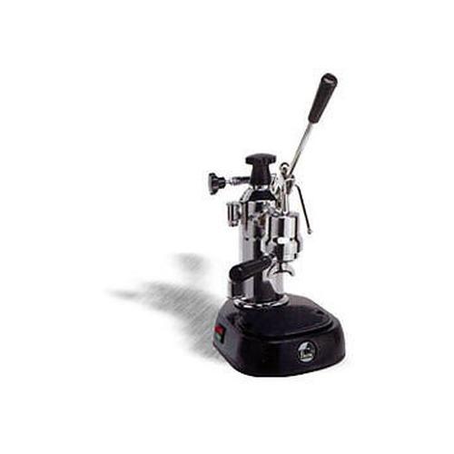 ENQ Macchina da Caffè Espresso Manuale Serbatoio 0.8 Litri Potenza 1000 Watt Colore Inox / Nero