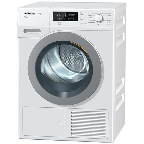 MIELE Asciugatrice TKB 650 WP LW ECO FragranceDos Perfect Dry, 8 Kg Classe A++ a Condensazione con Pompa di Calore