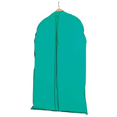compactor Copriabito Corto Colorato Verde Con Zip