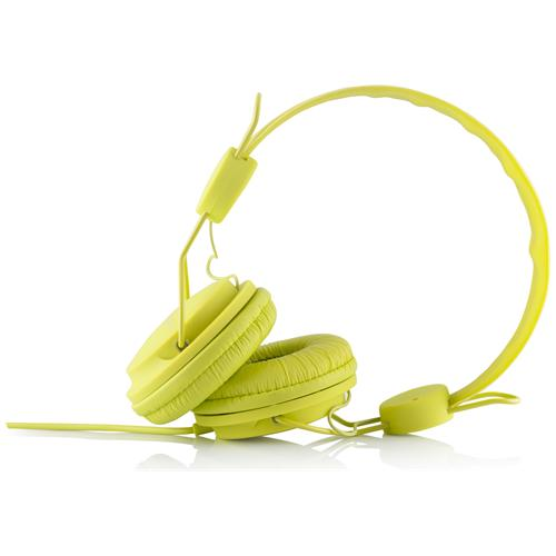 """MODECOM MC-400 FRUITY, Stereofonico, 3.5 mm (1/8"""") , Padiglione auricolare, Lime, Cablato, 20 - 20000 Hz"""