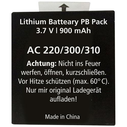 ROLLEI Batteria Accumulatore per Camera Digitale Nera 3.7 V 900 mAh RL20126