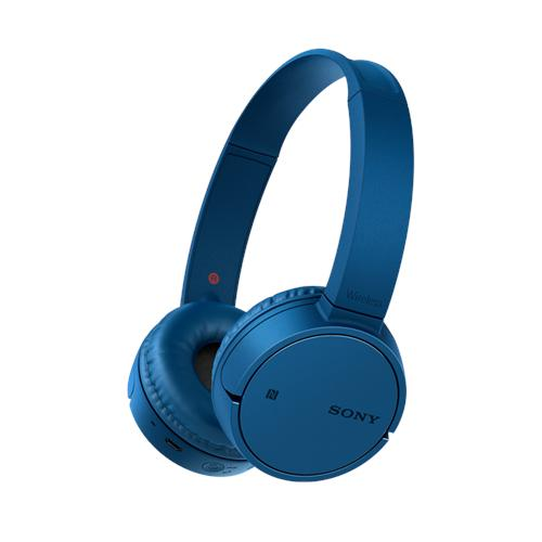 SONY Cuffie Bluetooth ZX220BT USB NFC colore Blu