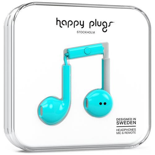 HAPPY PLUGS Earbud Plus Auricolare Stereofonico Cablato Turchese auricolare per telefono cellulare