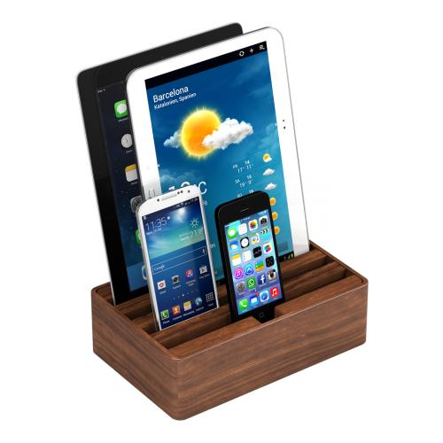 ALL DOCK 0458, Micro-USB, Tablet / Smartphone, Universale, Noce, AC, AC