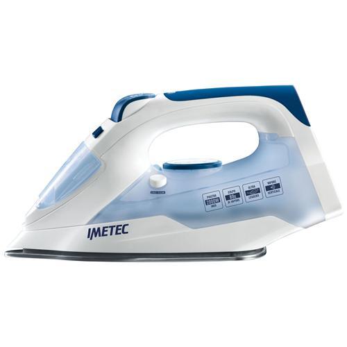 IMETEC 9293 Titanox Ferro da Stiro a Vapore Potenza 2000 Watt Colore Azzurro