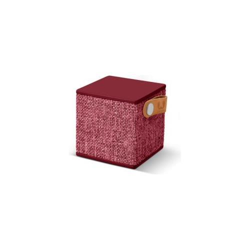 FRESH N REBEL Rockbox Cube Fabriq Edition Speaker Bluetooth - Rosso