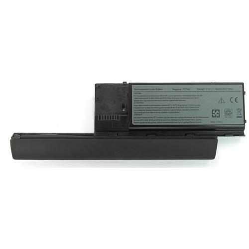 LI-TECH Batteria Notebook compatibile 9 celle GRIGIO per DELL PC764 6600mAh computer 6.6Ah