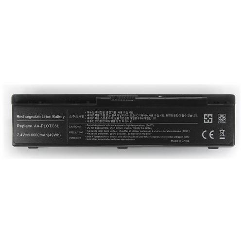 LI-TECH Batteria Notebook compatibile per SAMSUNG NP-305-U1A-A01-HK 6600mAh nero 46Wh 6.6Ah