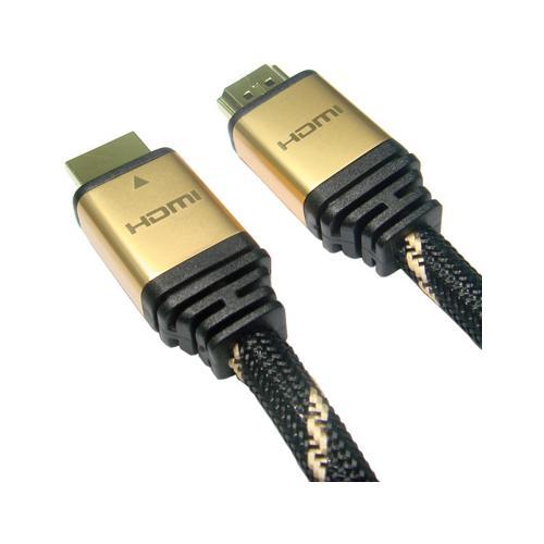 ROTRONIC 2m HDMI 2m HDMI HDMI Nero, Oro cavo HDMI