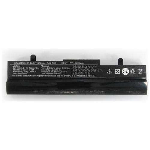 LI-TECH Batteria Notebook compatibile 5200mAh nero per ASUS EEEPC EEE PC EEPC 1001PXDEM17 6 celle