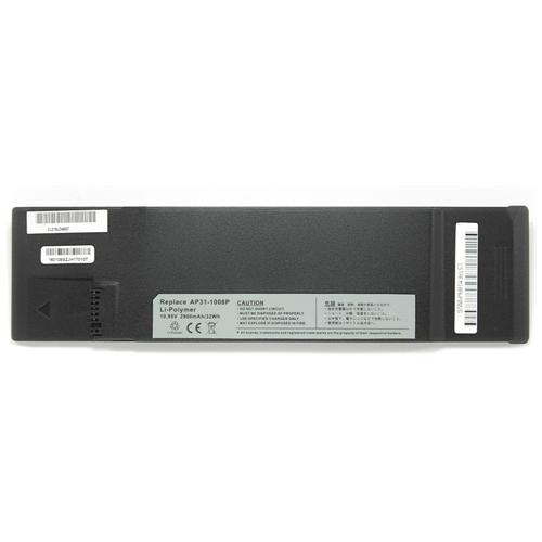 LI-TECH Batteria Notebook compatibile 2900mAh per ASUS 70-0A1P2B1000 10.8V 11.1V nero 32Wh