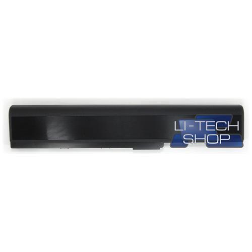 LI-TECH Batteria Notebook compatibile per ASUS P52F-SO050X nero computer pila 48Wh 4.4Ah