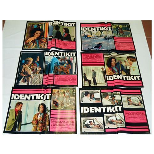 Vendilosubito Foto Busta Completo Originale Del Film Identikit Rarissimo