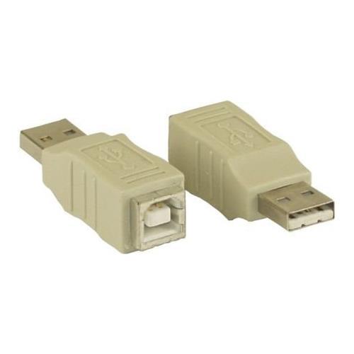 INLINE 33443 USB 2.0-A M USB 2.0-B F Beige cavo di interfaccia e adattatore