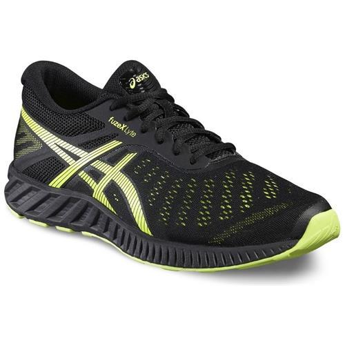 Asics Fuzex Lyte T620N9007 nero scarpe basse
