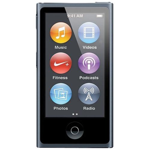 """APPLE iPod Nano 16 GB Display Touch 2.5"""" Radio e Genius Bluetooth 4.0 Colore Grigio"""