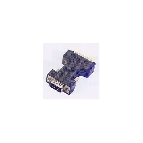 Microconnect MONBG HD15 DVI-I 24+5Pin Nero cavo di interfaccia e adattatore