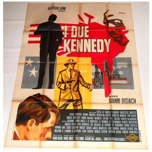 Vendilosubito Manifesto Originale Del Film I Due Kennedy 1969 Raro