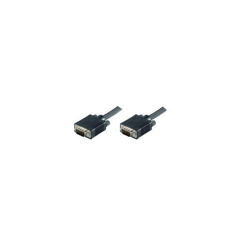 Microconnect SVGA HD15 30m VGA (D-Sub) VGA (D-Sub) Nero cavo di interfaccia e adattatore