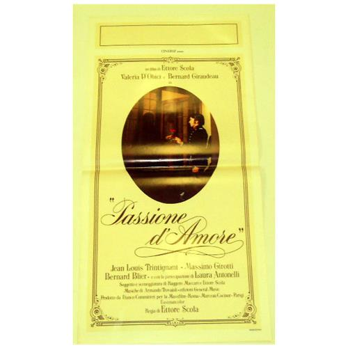 Vendilosubito Locandina Originale Del Film Passione D' amore