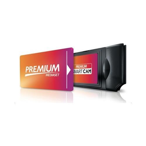 MEDIASET PREMIUM Smart Pack Tessera + Smart Cam Wi-Fi in comodato d'uso RICONDIZIONATO