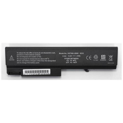 LI-TECH Batteria Notebook compatibile per HP COMPAQ 500350-00I 10.8V 11.1V 6 celle 4400mAh