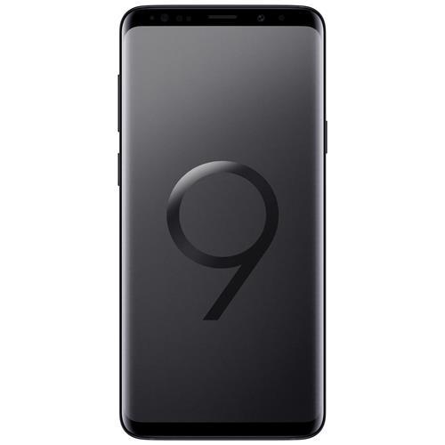 "SAMSUNG Galaxy S9+ Nero 64GB 4G Dual Sim Impermeabile Display 6.2"" Quad HD Slot MicroSD Fotocamera 12Mpx"