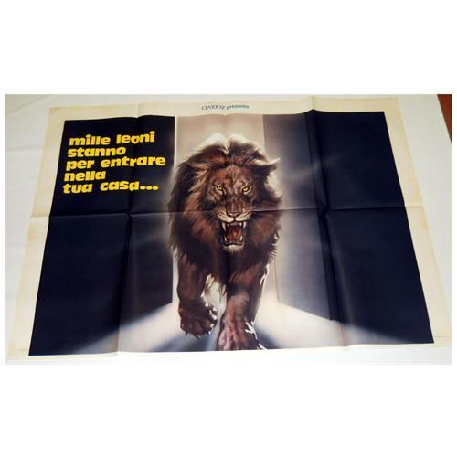 Vendilosubito Manifesto Originale Del Fil Il Grande Ruggito 2 Fogli 200 X 140