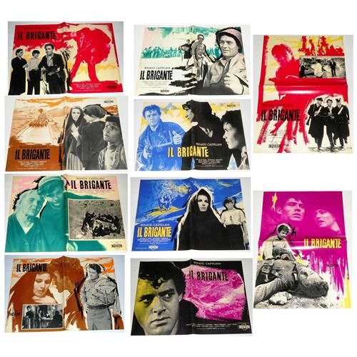 Vendilosubito Foto Busta Completo Originale Del Film Il Brigante 1961