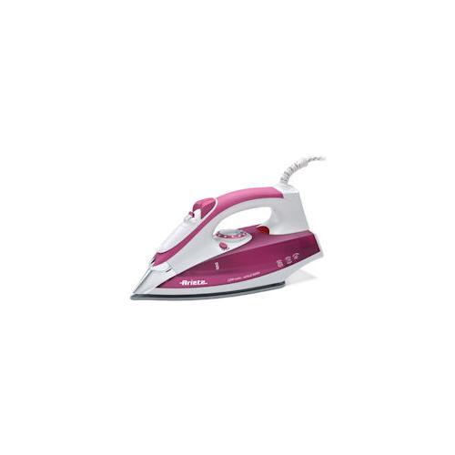 ARIETE 6215 Steam Iron Ferro da Stiro a Vapore Potenza 2200 W Colore Bianco e Rosa