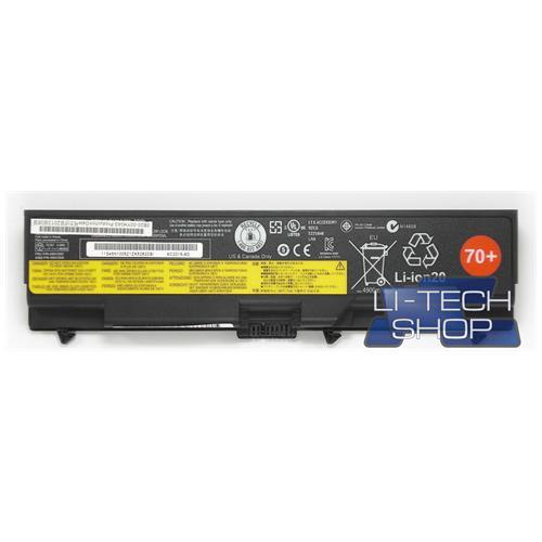 LI-TECH Batteria Notebook compatibile 5200mAh per IBM LENOVO THINK PAD EDGE E420-114155U