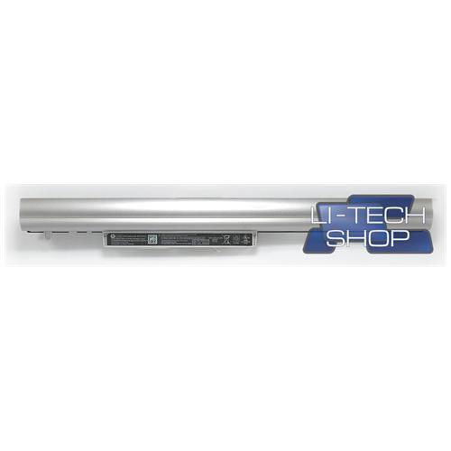 LI-TECH Batteria Notebook compatibile 2600mAh SILVER ARGENTO per HP PAVILLION 15-N003EB pila 38Wh