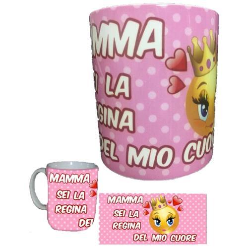 Rimini Gadget Tazza Festa Della Mamma Sei La Regina Del Mio Cuore Ps 05892