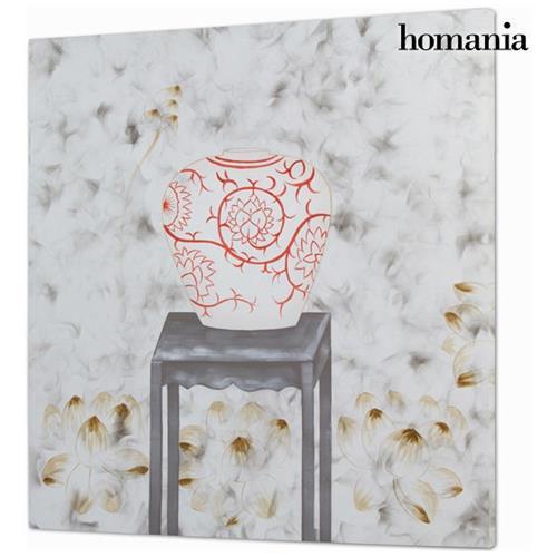 Homania Dipinto A Olio By