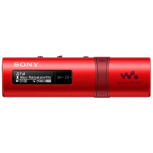 SONY Lettore MP3 NWZB183R 4GB colore Rosso