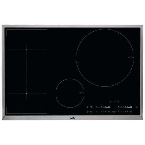 AEG - Piano Cottura ad Induzione HKL85416XB 4 Zone Cottura 80 cm ...