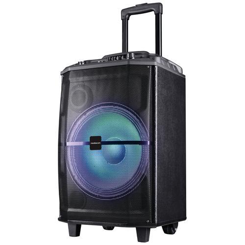 MEDIACOM Speaker Wireless Portatile MusicBox 120W Bluetooth colore Nero