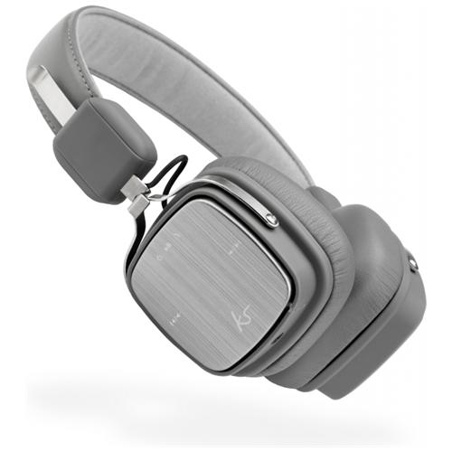KITSOUND Clash Evolution, Stereofonico, Bluetooth / 3.5mm, Padiglione auricolare, Grigio, Wired / Bluetooth, Sovraurale