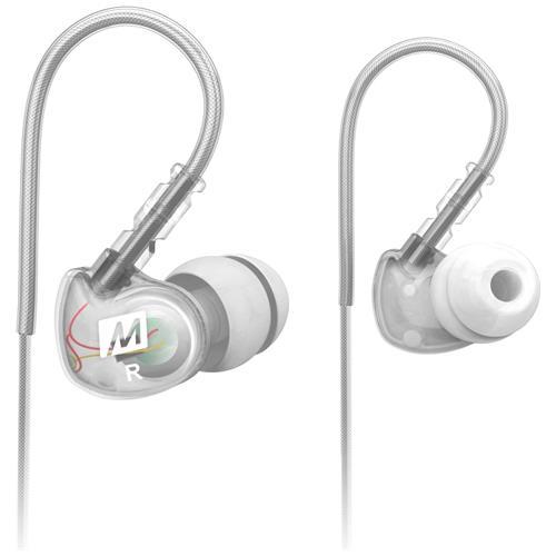MEELECTRONICS Auricolari in Ear Cablato Sport-Fi M6 Colore Bianco