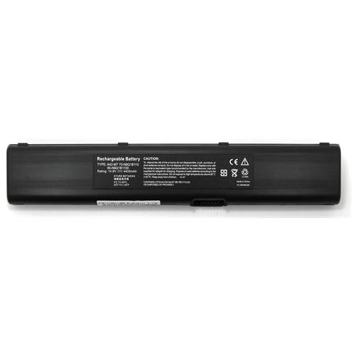 LI-TECH Batteria Notebook compatibile per ASUS M7V 14.4V 14.8V 8 celle nero pila 64Wh