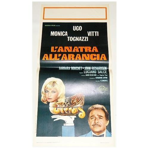 Vendilosubito Locandina Originale Film Anatra All' arancia Ugo Tognazzi Monica Vitti