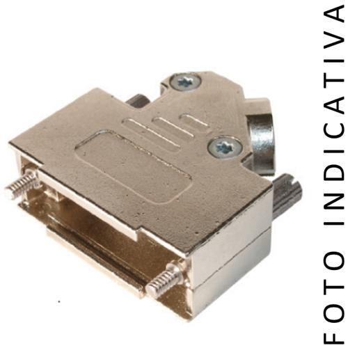 C-Industries Custodia In Metallo Con Viti Lunghe Filetto Unc 4/40 15 Poli