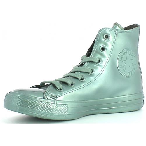 Converse All Star Metallic Rubber Hi Scarpe Sportive Donna Metallic Glacier