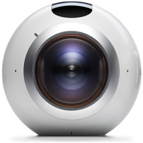 SAMSUNG Gear 360 Videocamera a 360° con Doppio Sensore da 15Mpx Wi-Fi Bluetooth e NFC