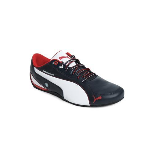 Puma Drift Cat 5 Bmw L Bmw Team Blu 30463202 bianco scarpe basse