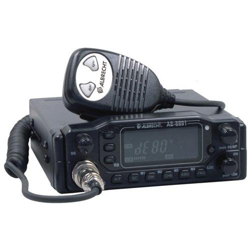 ALBRECHT AE 6891, Auto, AM, FM, LCD, 55 x 24 Pixels