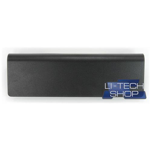 LI-TECH Batteria Notebook compatibile 5200mAh per ASUS N56XI-361VMSL 10.8V 11.1V nero 5.2Ah