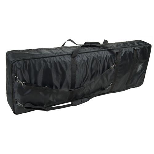 PROEL BAG940PN Nuova borsa per tastiera in robusto nylon 420D antistrappo Dimensioni interne: 1450 (larghezza) x 460 (profondità) x 170 (altezza) mm Imbottitura 20 mm Disponibile in colore nero