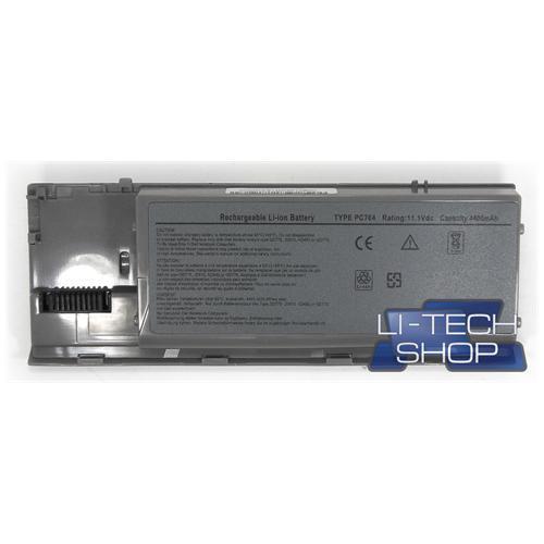 LI-TECH Batteria Notebook compatibile SILVER ARGENTO per DELL 31O-9080 pila 4.4Ah